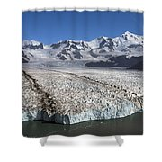 Terminal Moraine Of Nordenskjold Shower Curtain