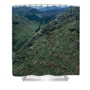 Terraces Of Rice Shower Curtain