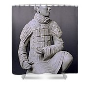 Terracotta Warrior  Shower Curtain