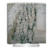 Terracotta Warriors In Xian In China Shower Curtain