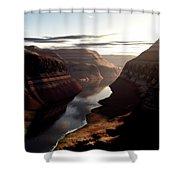 Terragen Render Of Trail Canyon Shower Curtain