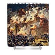 Texas: The Alamo, 1836 Shower Curtain