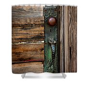 Textured Elegance Of The Past Shower Curtain
