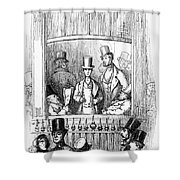 Thackeray: Newcomes, 1855 Shower Curtain