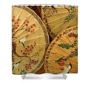 Thai Umbrellas 2 Shower Curtain