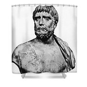 Thales, Ancient Greek Philosopher Shower Curtain by Science Source