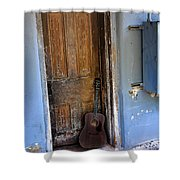 That Old Guitar Shower Curtain