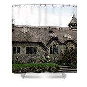 Thatched Church Shower Curtain