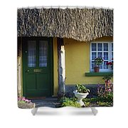 Thatched Cottage, Adare, Co Limerick Shower Curtain