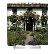 Thatched Cottage, Carlingford, Co Shower Curtain