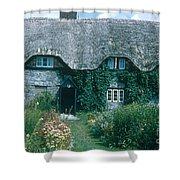 Thatched Roof, England Shower Curtain