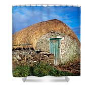 Thatched Shed, St Johns Point, Co Shower Curtain