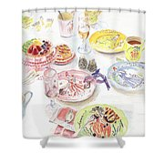 Thats Amore Shower Curtain