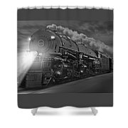 The 1218 On The Move Shower Curtain