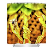 The 300 Sunflower Shower Curtain