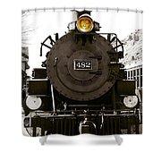 The 482 Durango To Silverton Shower Curtain