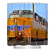 The 5279 To Reno Shower Curtain