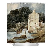 The Abbey Mill - Knaresborough Shower Curtain