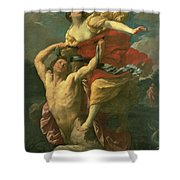 The Abduction Of Deianeira Shower Curtain