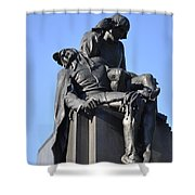 The Actor - Shakespere Memorial Shower Curtain