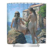 The Adriatic Sea Mmxi Shower Curtain