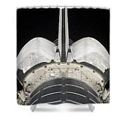 The Aft Portion Of The Space Shuttle Shower Curtain