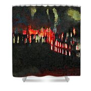 The Air That We Breath  Shower Curtain