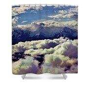 The Alaska Range Shower Curtain