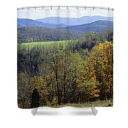 The Allegheny Front, North Fork Shower Curtain