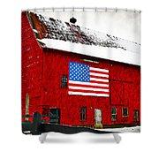 The American Dream Shower Curtain