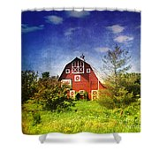 The Amish House Shower Curtain