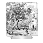 The Ancient Oak Shower Curtain by Granger