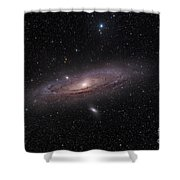 The Andromeda Galaxy Shower Curtain