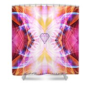 The Angel Of Confidence And Self Worth Shower Curtain