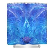 The Angel Of Grace Shower Curtain