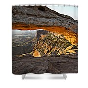 The Arch, Arches National Park, Moab Shower Curtain