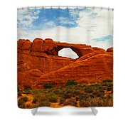 The Arches Of Utah Shower Curtain