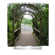 The Archway Shower Curtain