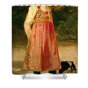 The Artist's Daughter - Hilde   Shower Curtain