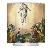 The Ascension Shower Curtain