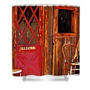 The Assay Office Digital Art Shower Curtain