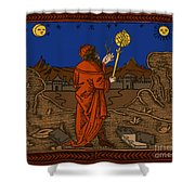 The Astrologer Albumasar Shower Curtain