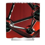 The Atomium Shower Curtain by Rob Hawkins