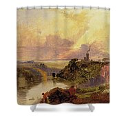 The Avon Gorge At Sunset  Shower Curtain