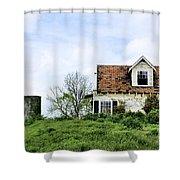 The Azaleas Still Grow Shower Curtain