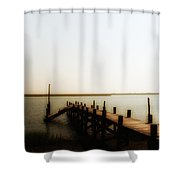 The Back Bay Shower Curtain