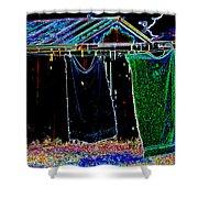 The Back Yard Shower Curtain