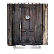 The Bar Door Shower Curtain