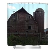 The Barn II Shower Curtain