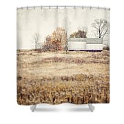 The Barn On The Hill Shower Curtain
